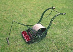 First mower